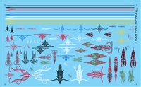 Pin Striping Decal Sheet #11004