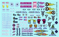 Gofer Racing Stuff Sheet #2 Decal Sheet 11010