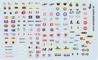 Gofer Racing Sponsor Sheet #2 Decal Sheet 11011