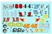Gofer Racing Vintage Modified #s Decal Sheet 11015