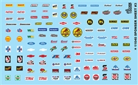 Contingency Sponsor Sheet #3 Decal Sheet 1/24 1/25 Scale
