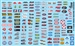 Drag Racing Goodies Sponsor Model Car Decal Sheet