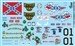 BUBBA'S FAVORITES Model Car Decal Sheet