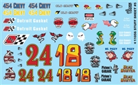 STUFF SHEET # 5 Model Car Decal Sheet