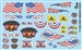 Gofer Racing Keep America Great Decal Sheet 11068