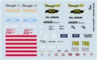 Gofer Racing Grumpy Jenkins Nova Decal Sheet 12000