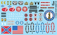 Gofer Racing Stuff Sheet #4 Decal Sheet 1/24 1/25 Scale