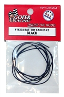 Battery Cables Black