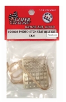 Photo Etch Seat Belt Kit Tan